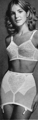 wearing girdles Girls
