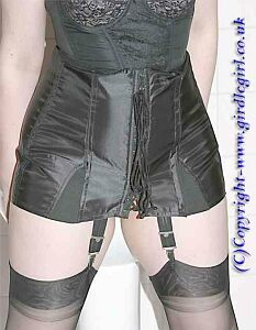 "An original Contessa modelled by "" Girdle Girl "" and reproduced with"