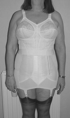 Men in bras and girdles